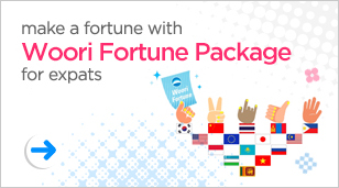 make a fortune with Woori Fortune Package for expats